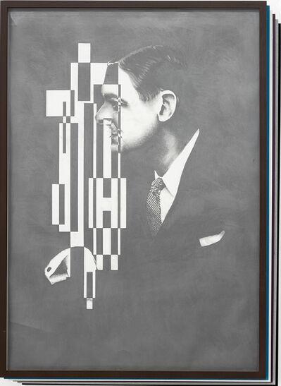 Matthias Bitzer, 'Der Zerfall der Eigenschaften / Collapse of Features (T.S. Eliot)', 2014