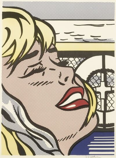Roy Lichtenstein, 'Shipboard Girl (C. II.6)', 1965
