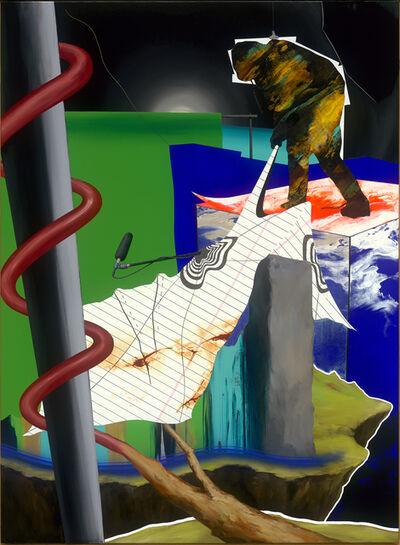 Chou Tai-Chun, 'Installing, Recalling,  the Boundary Marker', 2020