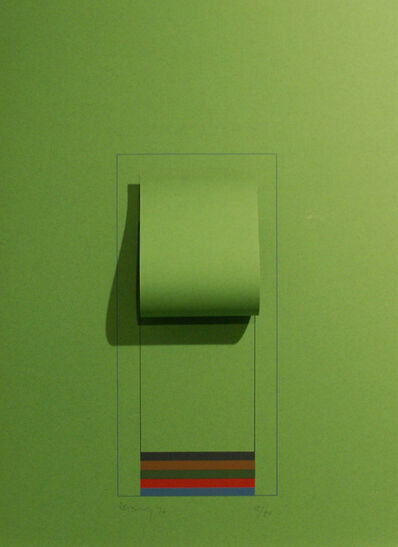Robyn Denny, 'Mirrors (bright green)', 1974