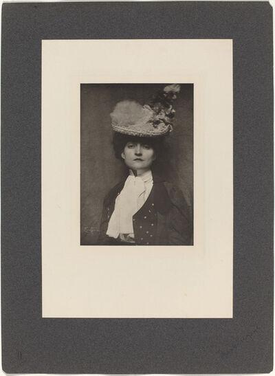 Frank Eugene, 'Portrait of Miss Jones', 1901