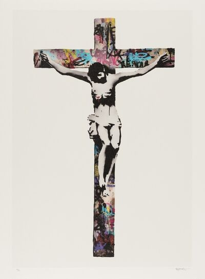 Kenny Random, 'Crucifixion Colors', 2011