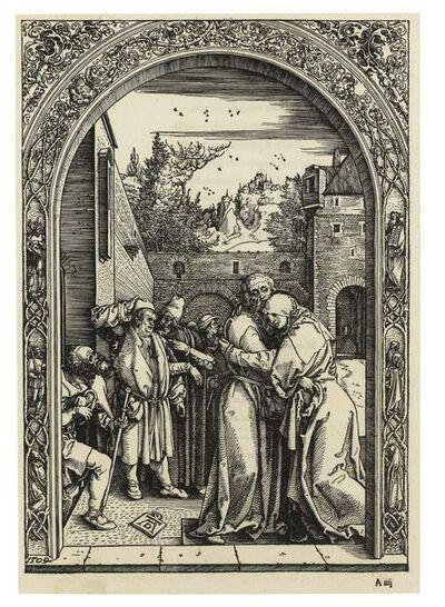 Albrecht Dürer, 'Joachim and Anna at the Golden Gate', 1511