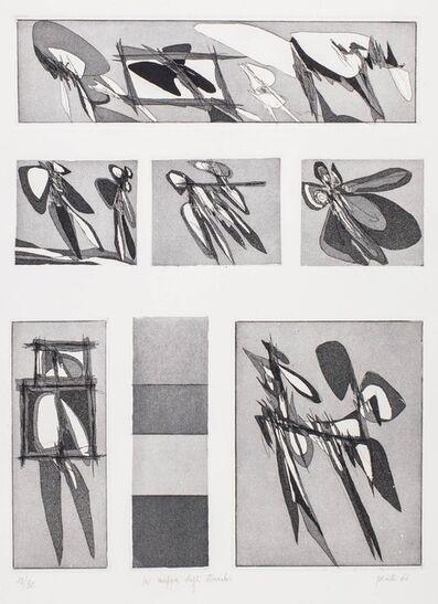 Achille Perilli, 'La mappa degli strambi', 1966