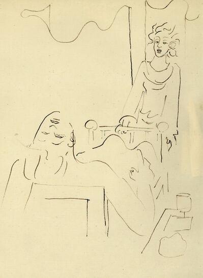 Jean Cocteau, 'Le Malade', 1934
