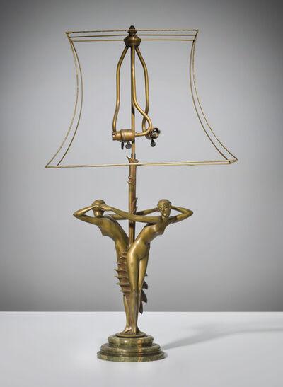 John-Paul Philippe, 'A rare figural lamp', circa 1930