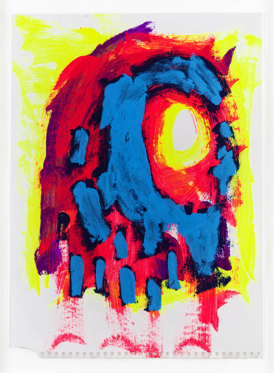 """Aaron Curry, '""""Ghost""""', 2014"""