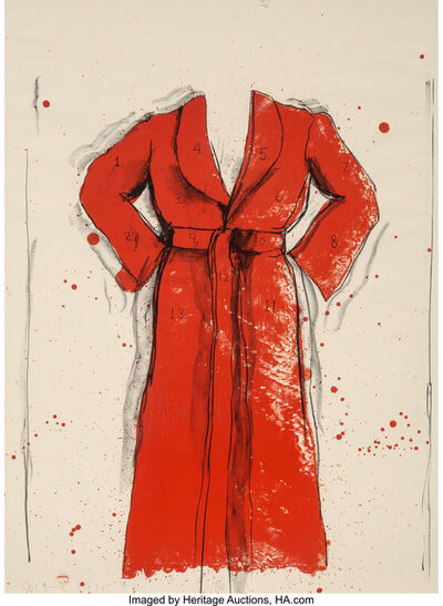 Jim Dine, 'Bathrobe', 1976