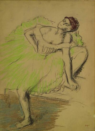 Edgar Degas, 'Danseuse Assise', 1897-1900