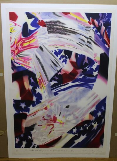 James Rosenquist, 'Stars and Stripes At The Speed of Light', 2004