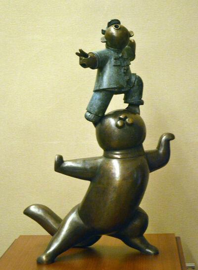 Jiang Shuo, '中国黑猫; China Black Cat', 2014