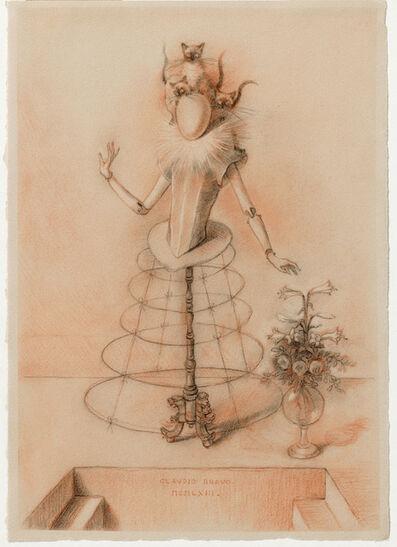 Claudio Bravo, 'Maniquí infanta con flores', 1963