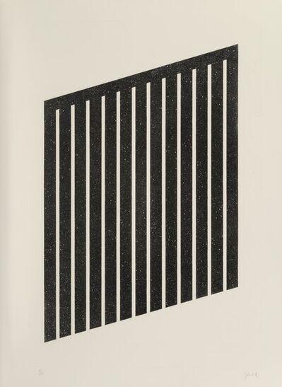 Donald Judd, 'Untitled', 1978-79