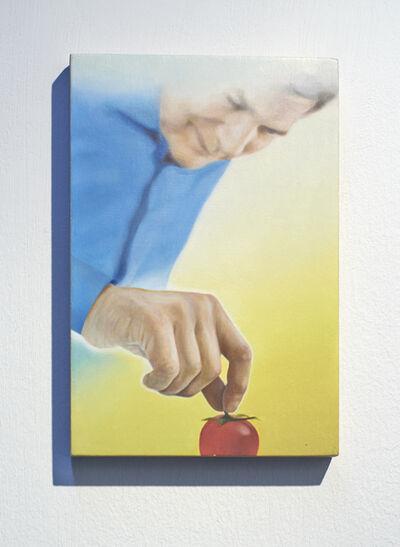 Gareth Cadwallader, 'Man with Tomato 1', 2012