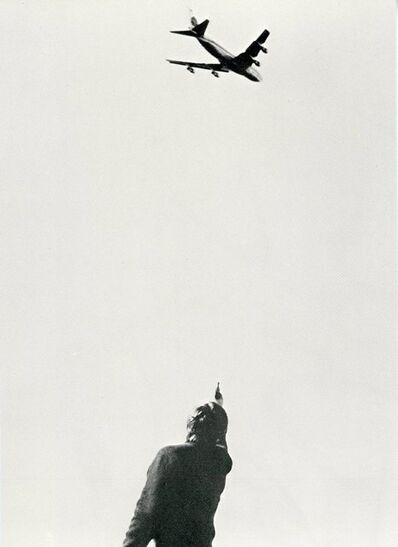Chris Burden, 'Chris Burden, 747, Card', 1973