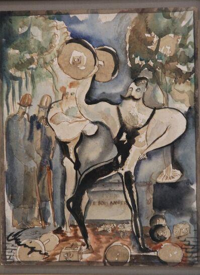 Carlos Enriquez, 'Ives the Baker', 1930