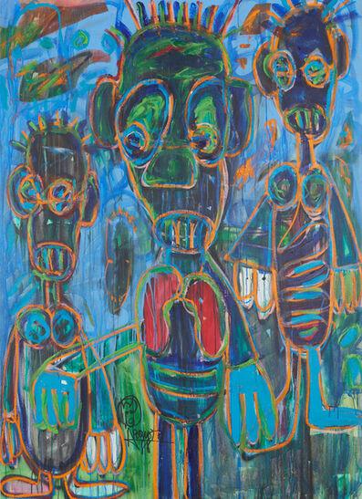 Aboudia, 'Les perdus ', 2021
