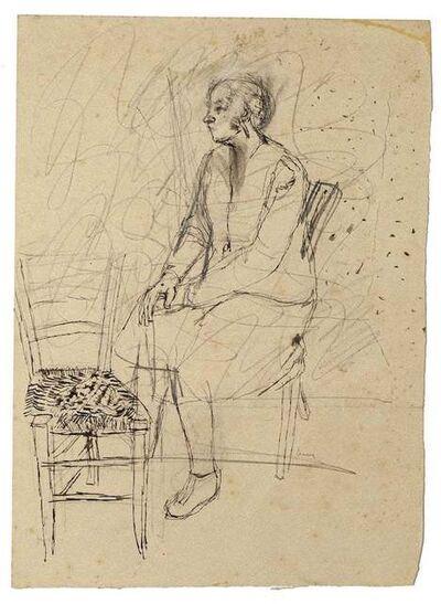 Jeanne Daour, 'Interior', 20th Century