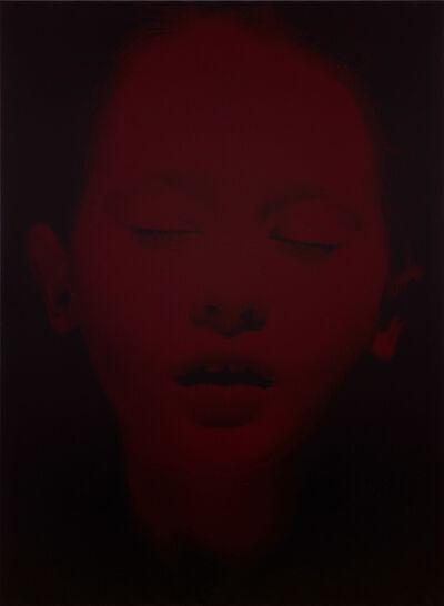 Gottfried Helnwein, 'Red Sleep 32', 2021