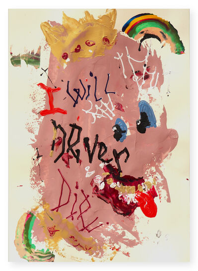 Willehad Eilers, 'I Will Never Die', 2020