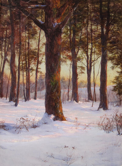 Walter Launt Palmer, 'The Pine Grove', 1874-1932