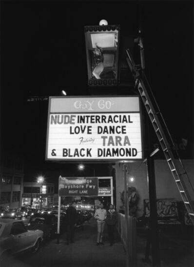 Bill Owens, 'Nude Interracial Love Dance', 1968