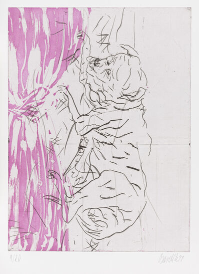 "Georg Baselitz, 'Jupiter, from ""Schlafende Hunde""', 1998-1999"