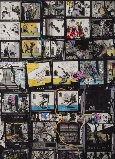 Zak Smith, 'Still Life with Editing', 2013