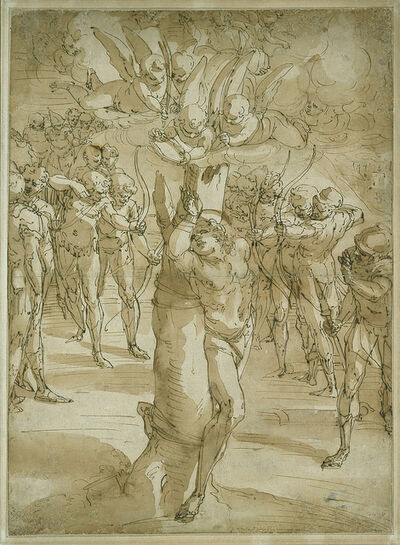 Luca Cambiaso, 'The Martyrdom of Saint Sebastian', 1561