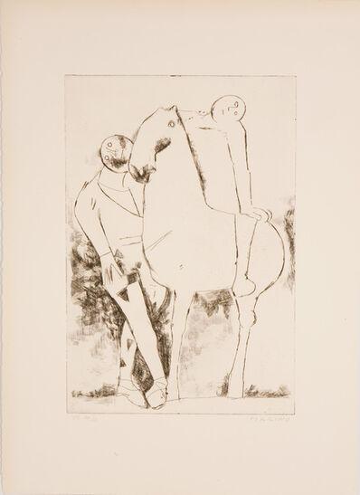 Marino Marini, 'GIOCO FELICE', 1968