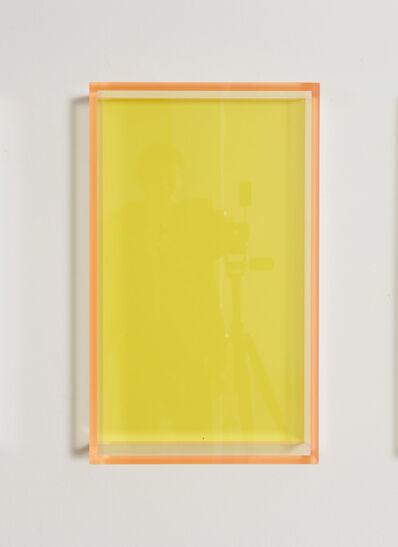 Regine Schumann, 'Colormirror pastel yellow Milan', 2021
