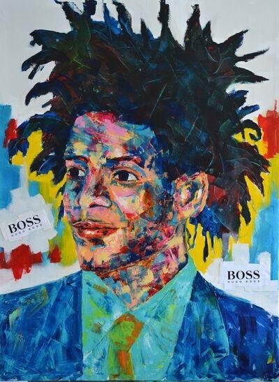 Aurino Jottar, 'Jean-Michel Basquiat', 2019