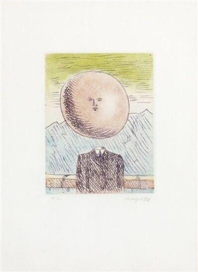 René Magritte, 'L'Art de Vivre', 1968