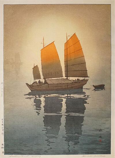 Yoshida Hiroshi, 'Sailboats - Morning'
