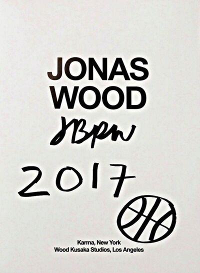 Jonas Wood, 'Original Basketball Drawing (Signed)', 2017
