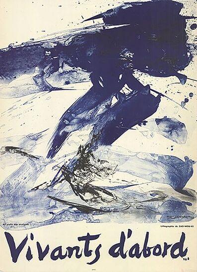 Zao Wou-Ki 趙無極, 'Vivants D'Abord', 1968