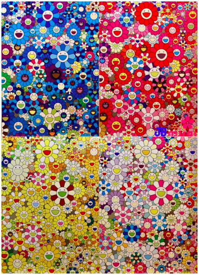 Takashi Murakami, 'An Homage Set C', 2012