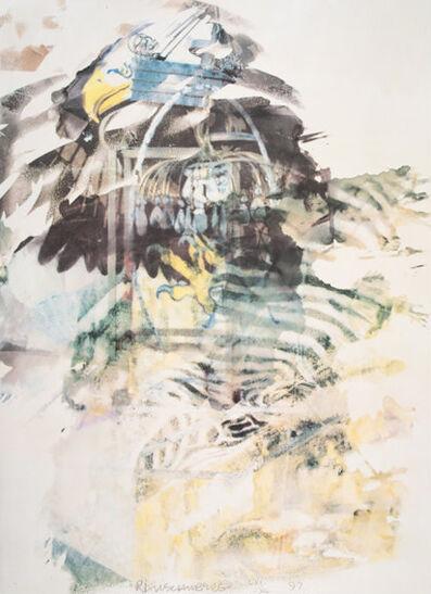 Robert Rauschenberg, 'Caucus from the portfolio of Leo Castelli's 90th Birthday', 1997