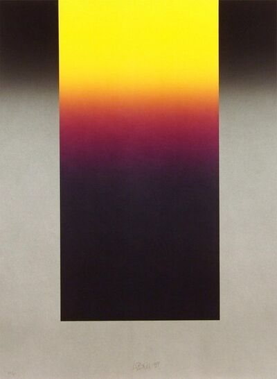 Larry Bell, 'Barcelona #10', 1988