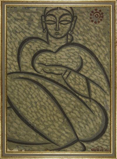 Jamini Roy, 'Untitled (Woman)', n/a