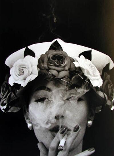 William Klein, 'Hat + 5 Roses (Vogue) Paris 1956', 1956-printed later