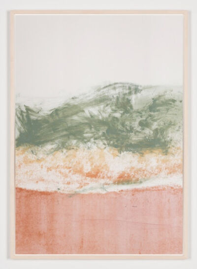 Carla Chan, 'Clouded White – pink green 沌 白', 2018