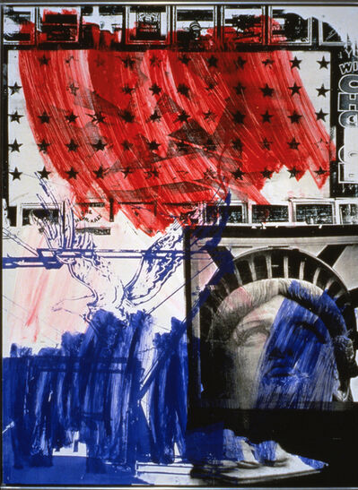 Robert Rauschenberg, 'People for the American Way Print', 1991