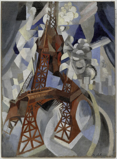 Robert Delaunay, 'La tour rouge', 1911-1912