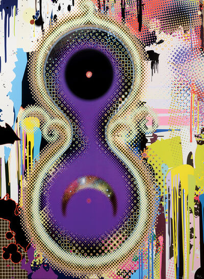 Takashi Murakami, 'Genome No. 10 7x2 122', 2009