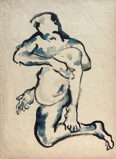 Antonio Hin-yeung Mak, 'Figure with a twist', 1990s