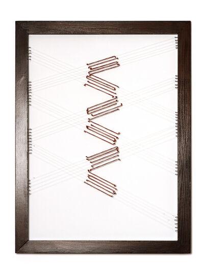 Adia Wahid, 'Drawing with Thread II', 2012