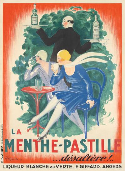 Leonetto Cappiello, 'La Menthe-Pastille', 1929