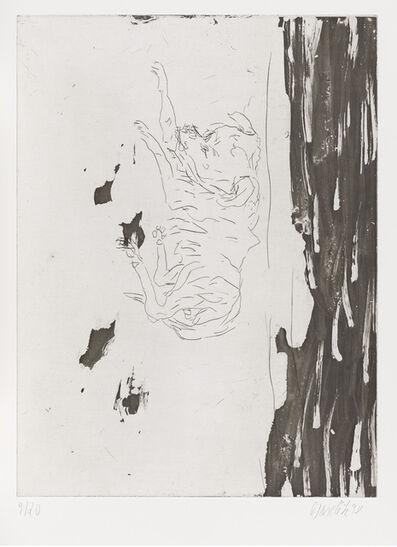 """Georg Baselitz, 'Hondo, from """"Schlafende Hunde""""', 1998-1999"""