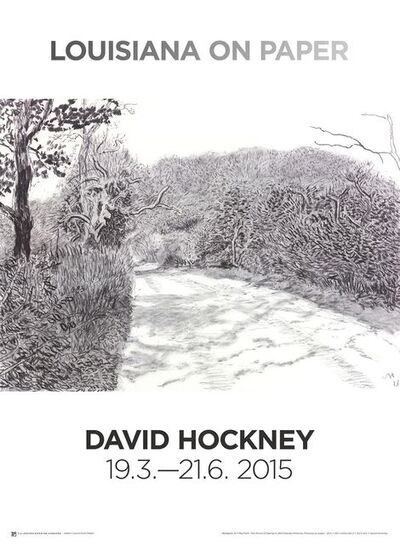 David Hockney, 'Woldgate, 6-7 May from The Arrival of Spring in 2013', 2015